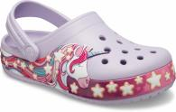 Kids Crocs Fun Lab Unicorn Band Clog