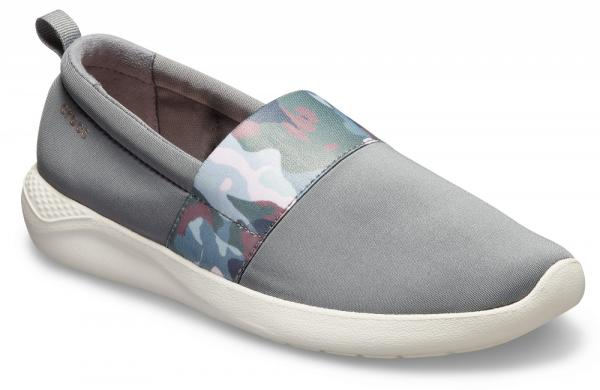 Womens LiteRide™ Graphic Slip-On
