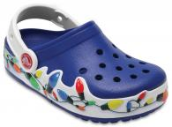 Kids' CrocsLights Holiday Clog
