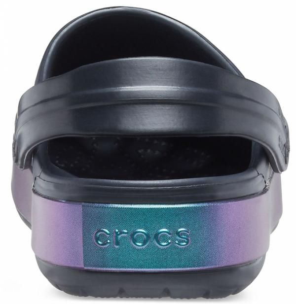 Crocband™ Iridescent Band Clog