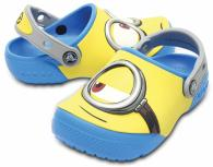 Kids Crocs Fun Lab Minions Clogs