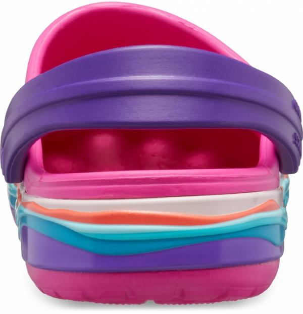 Kids' Crocband™ Wavy Band Clog