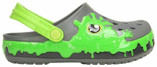 Kids Crocs Fun Lab Slime Band Clog