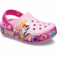 Kids' Crocs Fun Lab Multi-Princess Band Lights Clog
