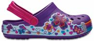 Kids Crocband™ Fun Lab Graphic Clogs
