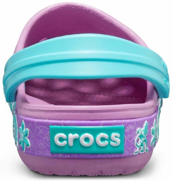 Kids Crocs Fun Lab Princess Jasmine Band Clog