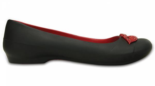 Women's Crocs Gianna Red Lips Flat