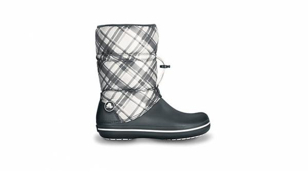 Crocband Winter Boot Plaid