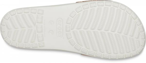 Womens Crocs Sloane Metallic Texture Slide