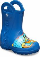 Kids' Crocs Fun Lab Dinosaur Rain Boot