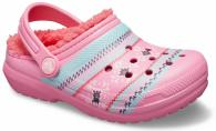 Kids' Classic Printed Lined Clog