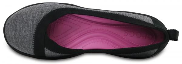 Womens Busy Day Stretch Heather Flats