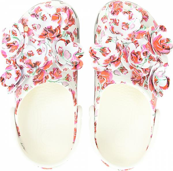 Crocband™ Timeless Clash Roses Clog