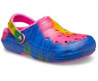 Classic Tie-Dye Lined Clog