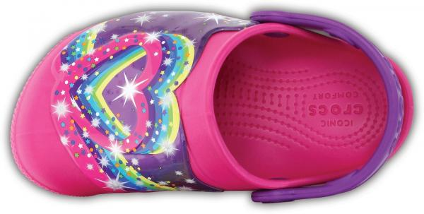 Kids Crocs Fun Lab Lights Clog