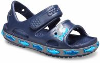 Boys Crocs Fun Lab Shark Band Sandal