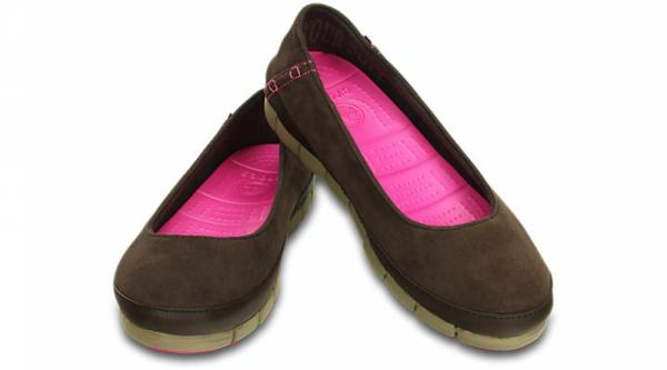 Women's Stretch Sole Microsuede Flat
