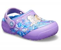 Kids Crocs Fun Lab Lined Frozen Clog