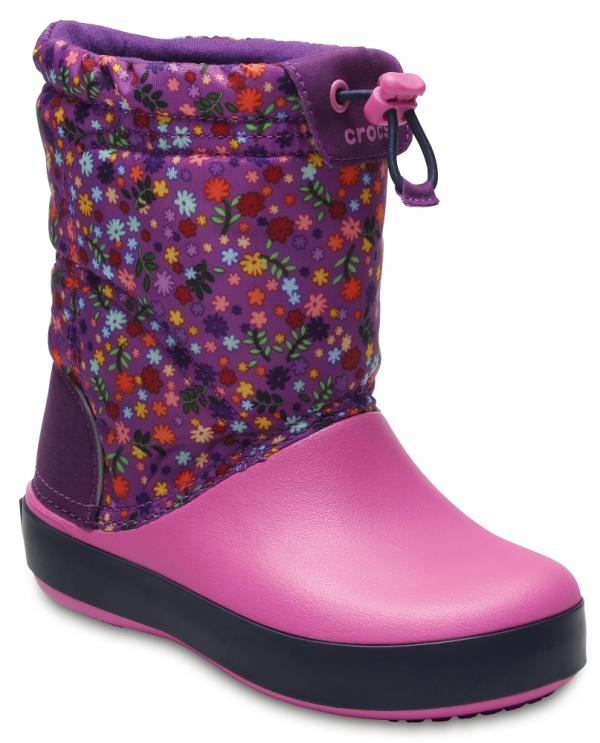 Kids Crocband™ LodgePoint Graphic Boot