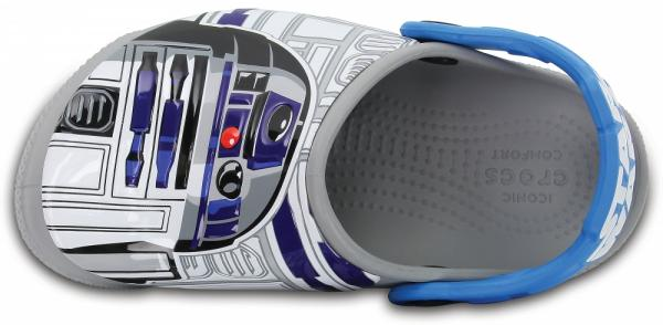 Crocs Fun Lab Lights R2-D2 Clogs