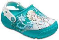 Kids Crocs Fun Lab Frozen Lights Clog