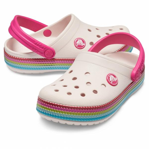 Kids' Crocband™ Sequin Band Clog