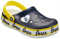 Kids Drew Barrymore Crocs Crocband™ Clogs
