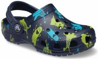 Kids Toddler Classic Monster Print Clog
